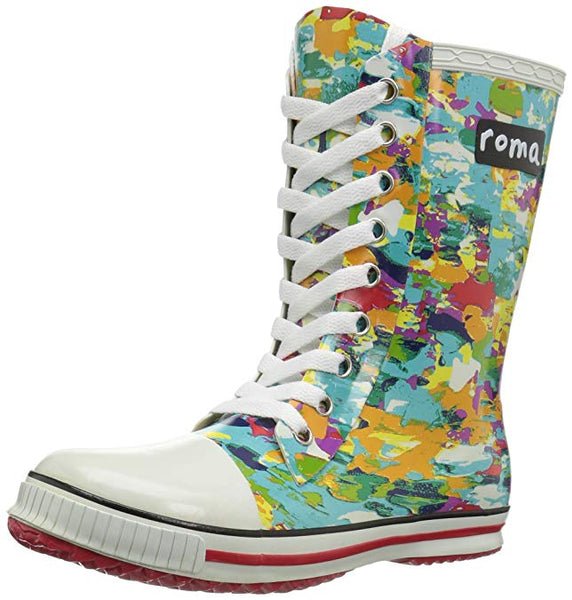 Kids ILONA Lace-Up Rain Boots