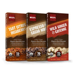 BIJA Chocolates Organic 70%, 72% Dark Chocolate Adventure Bundle