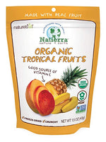 Natierra Nature's All Foods Organic Freeze-Dried Tropical Fruits, 1.5 Ounce