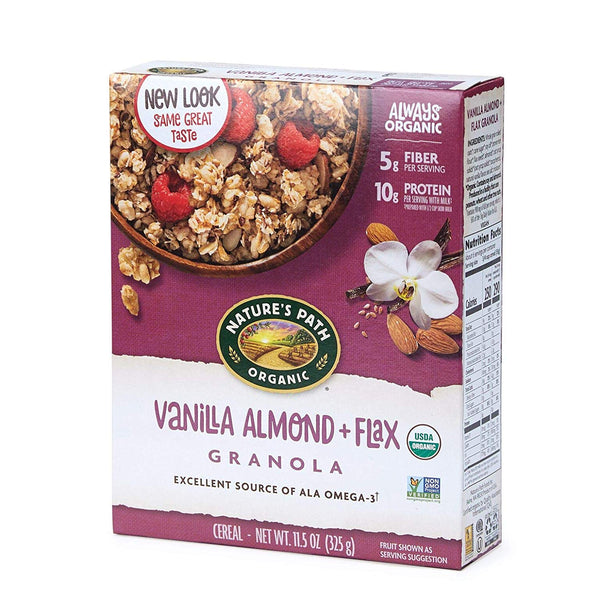 Vanilla Almond and Flax Granola