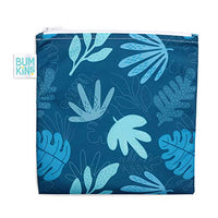 Sandwich Bag, Reusable, Washable, Food Safe, BPA Free, Blue Tropic, 7x7