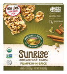 Organic Chewy Granola Bars, Pumpkin-N-Spice Flax Plus, 7.4 Ounce Box (Pack of 6)