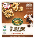 Organic Chewy Granola Bars, Dark Chocolate Chip, Chococonut, 6.2 Ounce Box (Pack of 6)