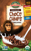 Envirokidz Organic Gluten Free Cereal, 10 Ounce Box Chocolate Choco Chimps,(Pack of 12)