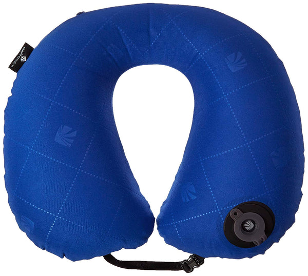 Exhale Neck Pillow, Blue Sea