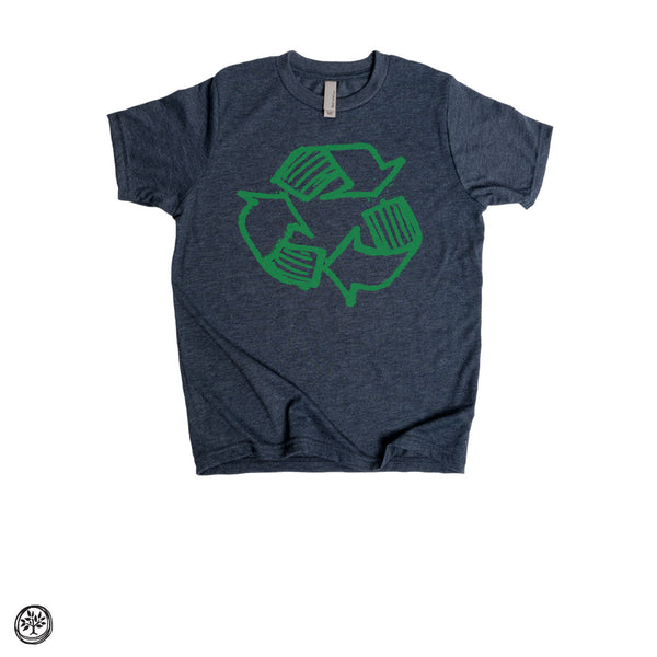 Recycle, Kids Short-Sleeve T-Shirt