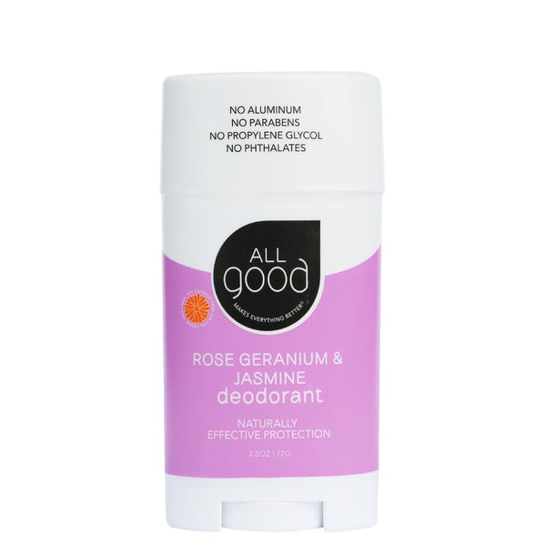 All Good Deodorant - Rose Geranium & Jasmine