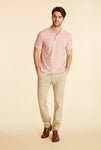 "BOS - Slim Straight Chino 30"" - Stone"