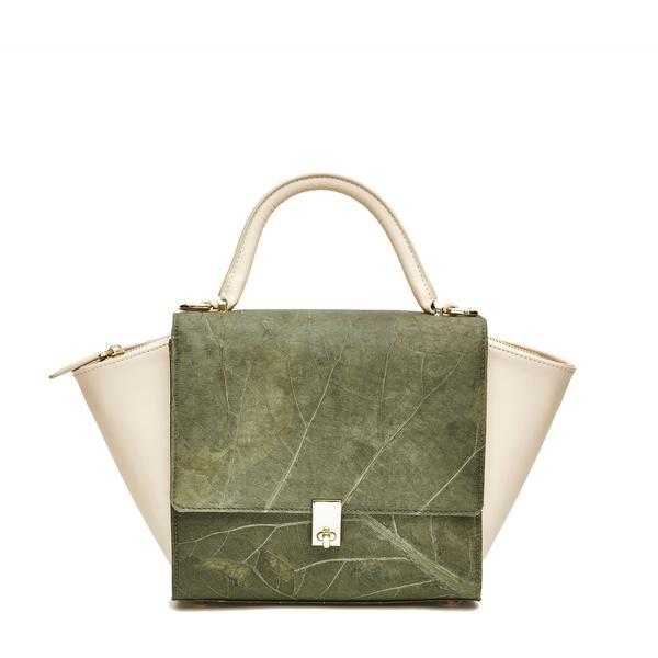 Emily Bag in Green Leaf Leather