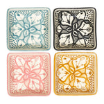 Square Floral Dishes