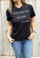 Organic Compassion Saves Unisex Tee