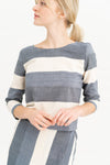 Long Sleeve Tee - Luna Stripe