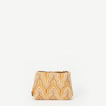 Meena Small Mid-Century Mod Cotton Pouch