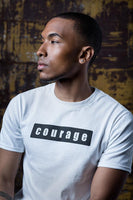 Courage = Valentía Organic Cotton T-shirt