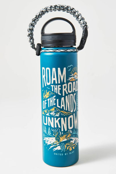 22 oz. Lands Unknown Stainless Steel Water Bottle