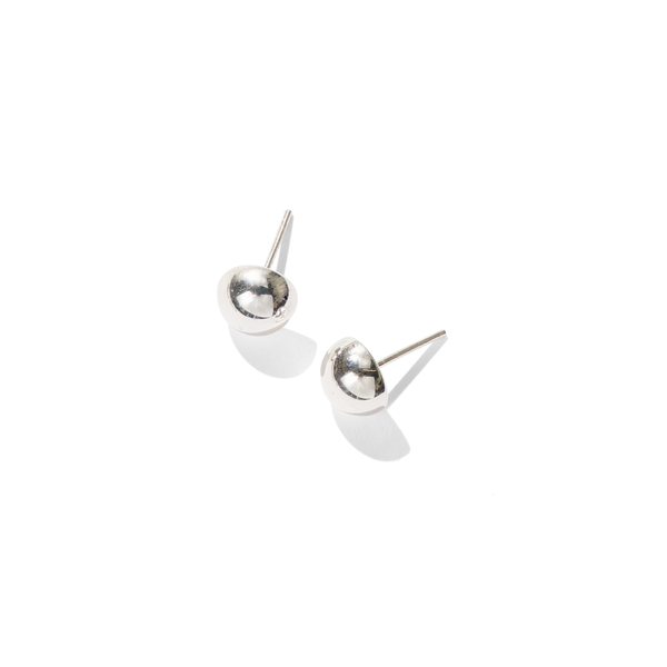 Essential // Silver Ball Studs