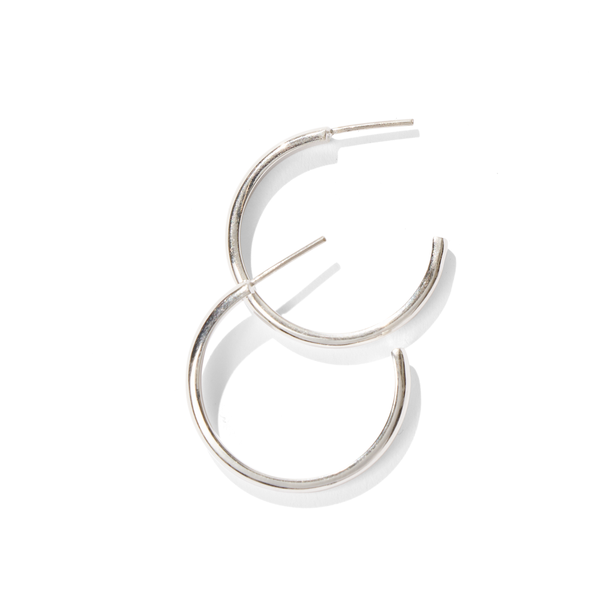 Essential // Small Silver Hoops