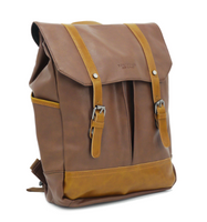 Kasugai City Backpack Earth Brown