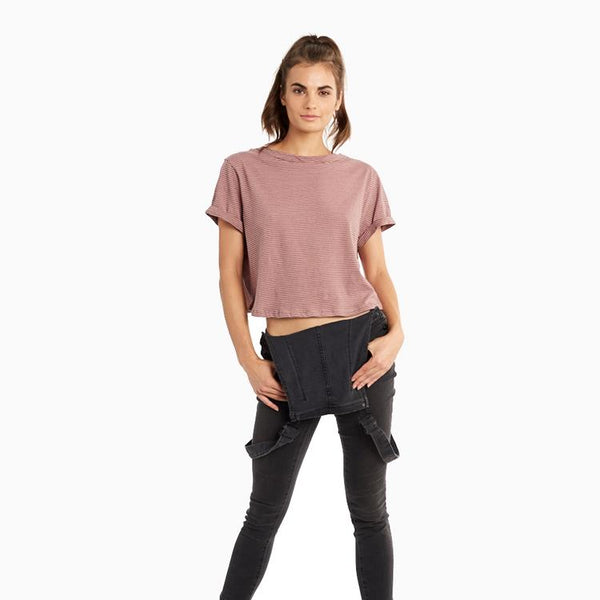 Organic Cotton Amelia Crop Top