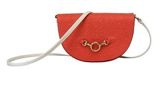 Half Moon Convertible Crossbody in Poppy