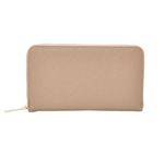 Mechaly Women's Katie Tan Vegan Leather Wallet