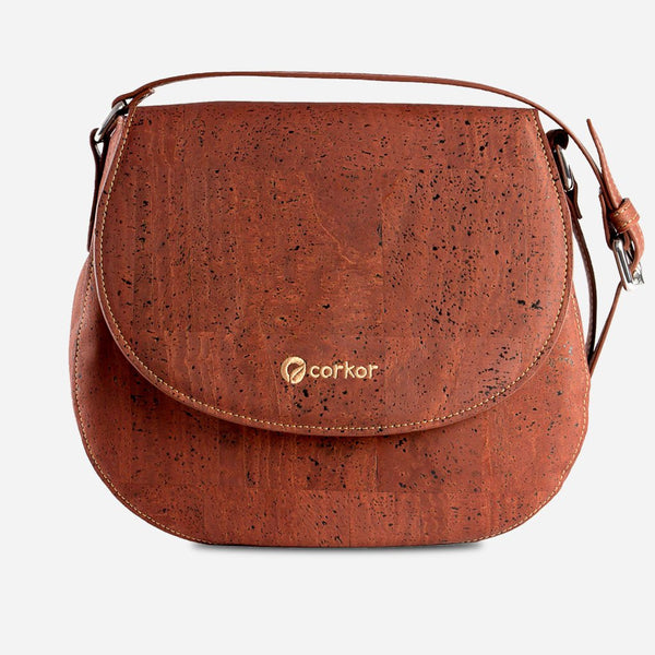 Cork Saddle Bag