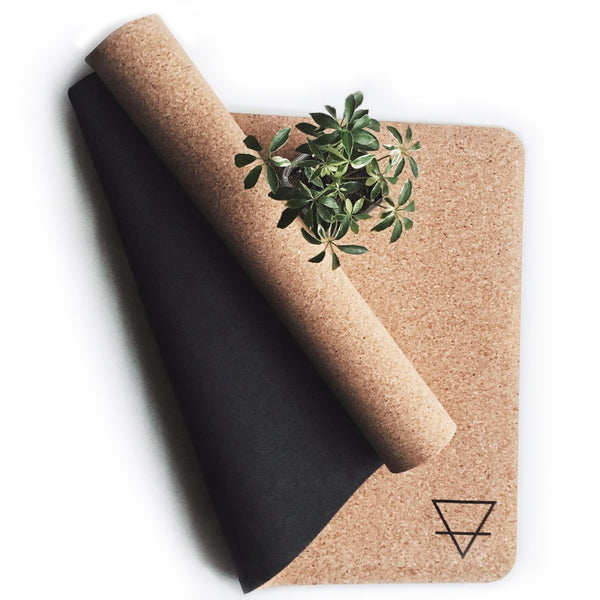 Cork Yoga Mat – Earth Symbol