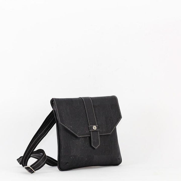 Ella Cork Crossbody | Black