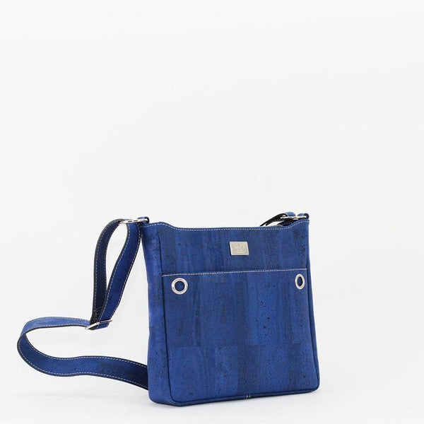 Hailey Cork Crossbody | Royal Blue