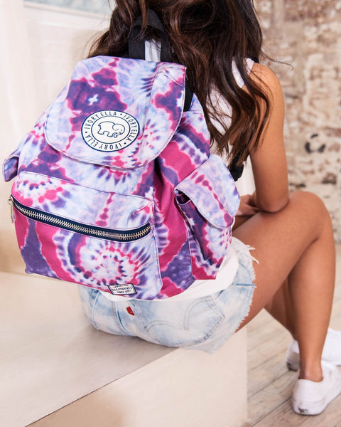 Tie Dye Drawstring Backpack
