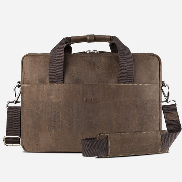 Cork Briefcase Brown