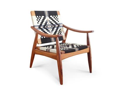 Masaya & Co. Izapa Arm Chair, Pattern Manila