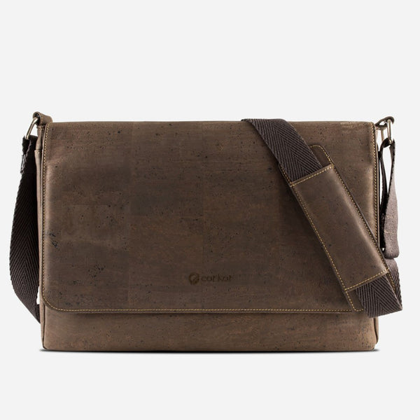 Cork Messenger Bag Brown