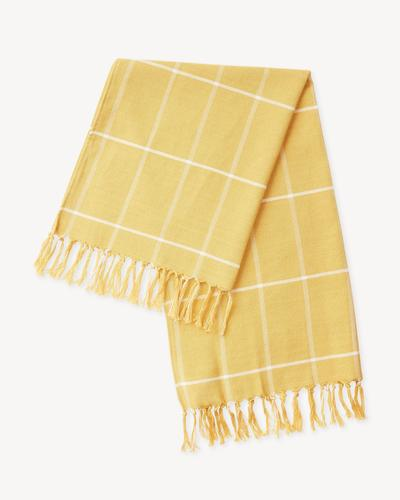 Minna Gold Grid Towel