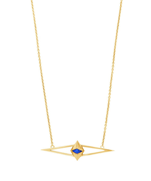 Zeppelin Lapis Necklace