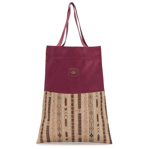 Cork Shopping Bag | Red