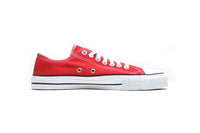 Sneakers Lowcuts Red Organic Fairtrade