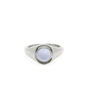Beam Silver Agate Ring