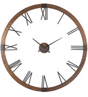 Amarion Hammered Copper Wall Clock Frame