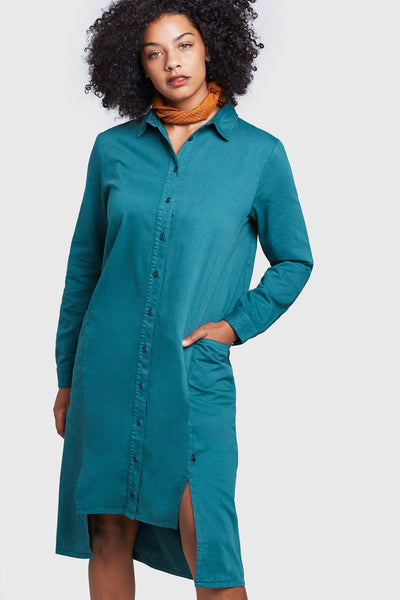 Sway Button-Down Shirt Dress