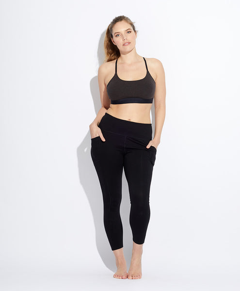 Cropped Pocket Legging