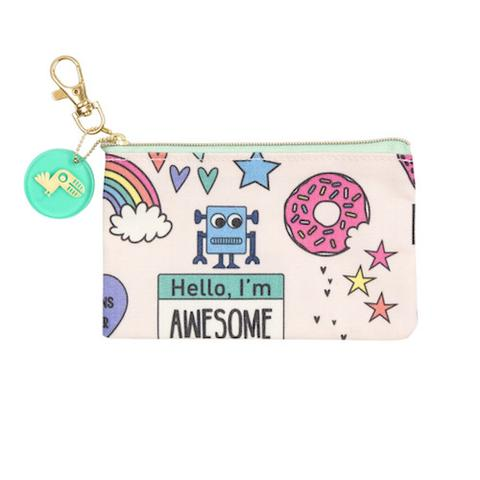 Flat Coin Purse - Yoobi Awesome