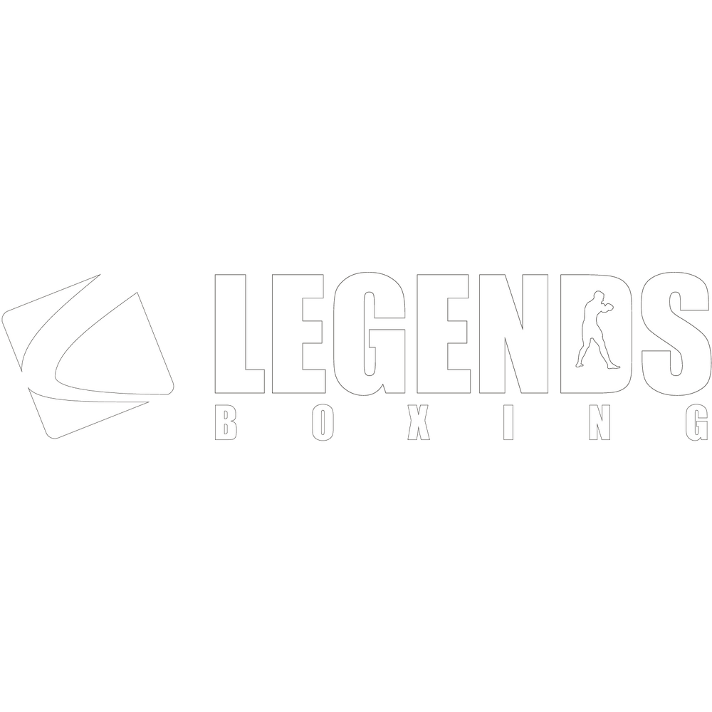 Legends White Decal