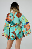 Tropical Island Romper