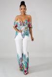 So Floral Jumpsuit