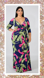 In the Palms Maxi Dress