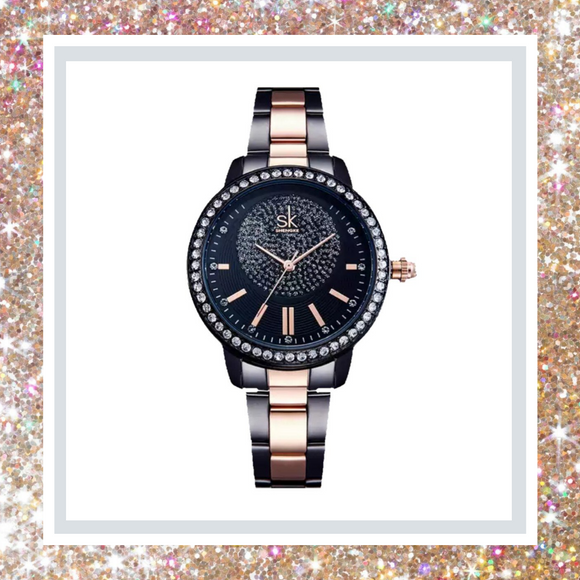 W.O.S. Rose Gold Luxury Quartz Watch
