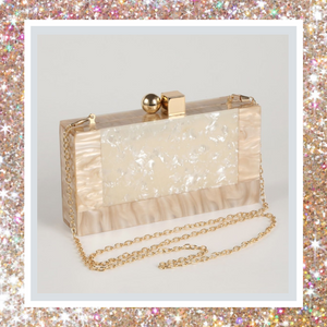 WOS Luxx Pearl Clutch