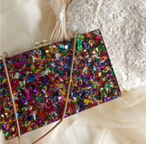 **PREORDER** WOS Luxx Marble Clutch