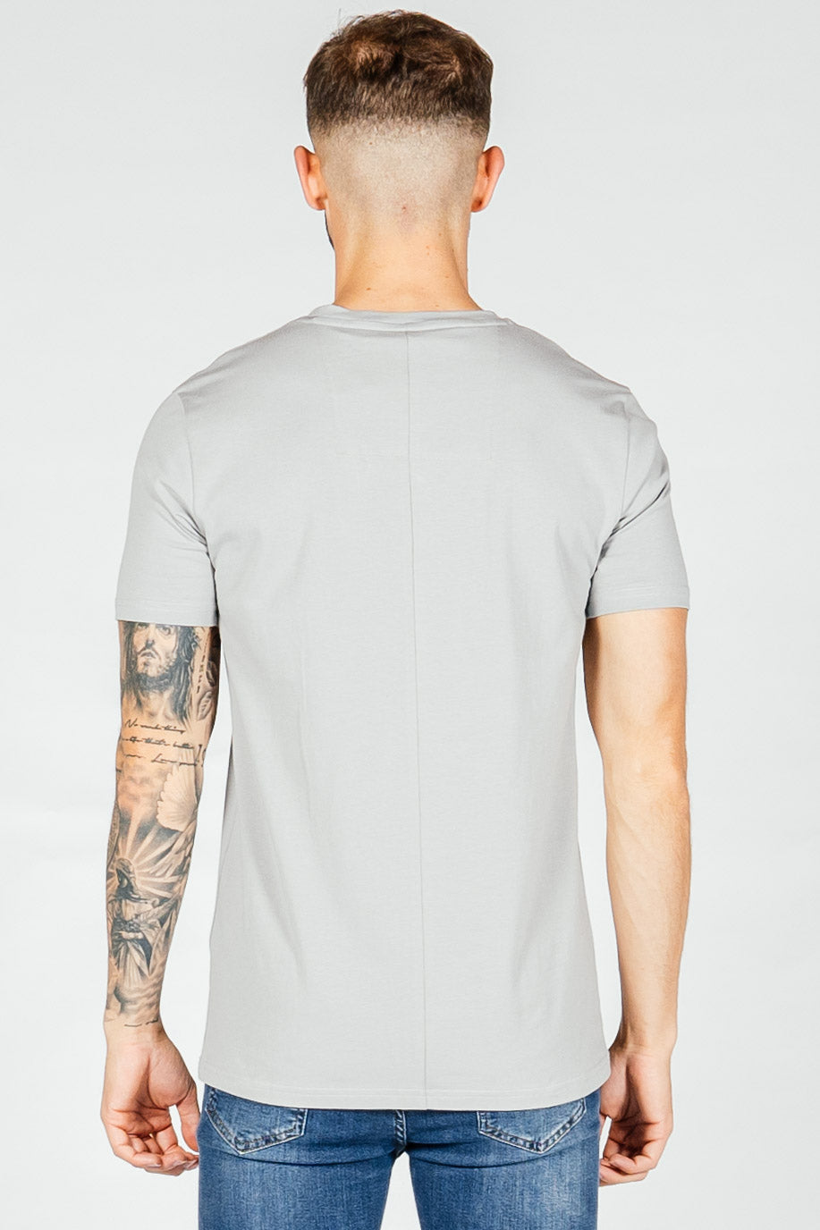 Men's Medal T-Shirt in Grey